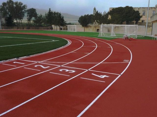 pista atletism - culoare
