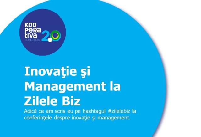 inovatie si management la zilele biz