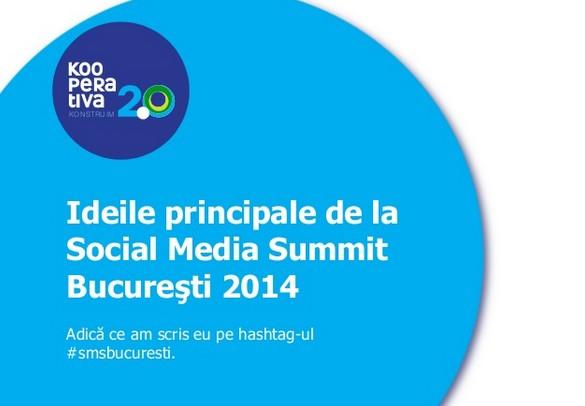 idei principale social media summit 2014