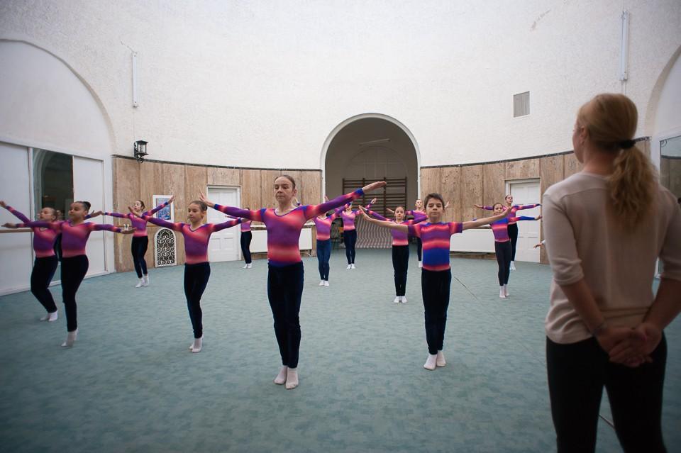 antrenament junioare gimnastica 16
