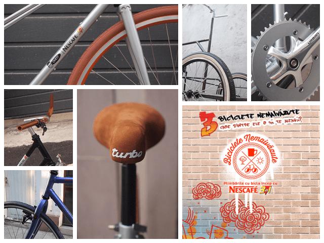 nescafe - biciclete