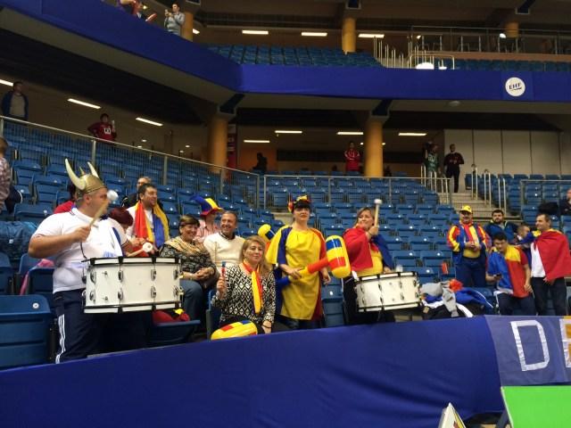 Romania - Danemarca la Campionatul European de Handbal feminin (1)