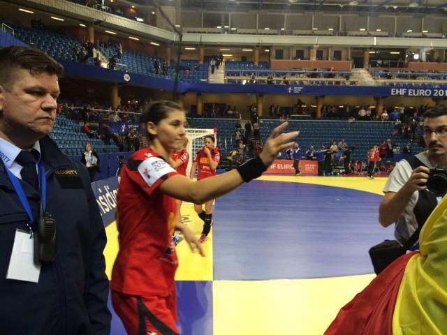 Romania - Danemarca la Campionatul European de Handbal feminin (6)