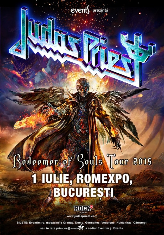 Poster Judas Priest 2015