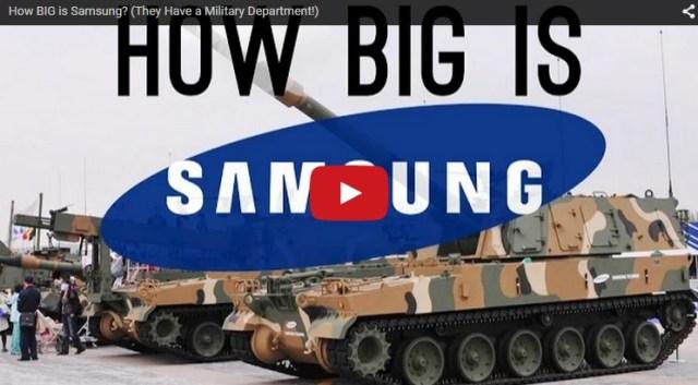 how big is samsung