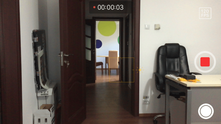 clip slow-motion iphone
