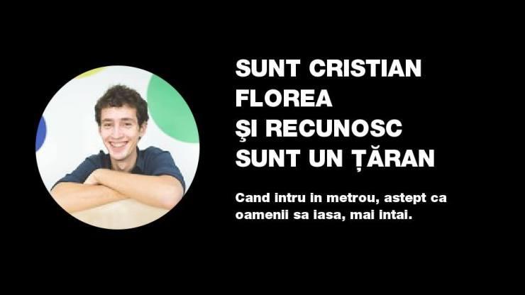 cristian florea - studiu de caz #suntuntaran
