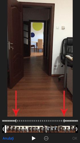 schimba viteza clipurilor filmate in slow-motion cu iphone-ul 1