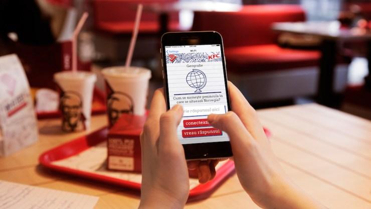 KFC wireless test