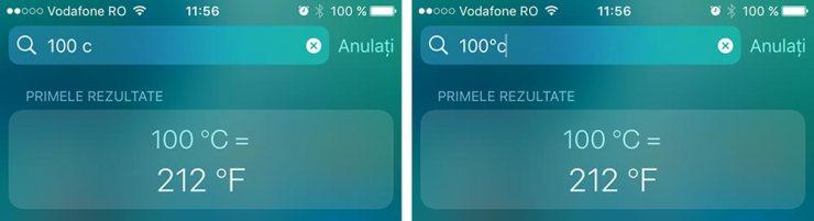 convertor grade celsius in fahrenheit cautare de pe iphone