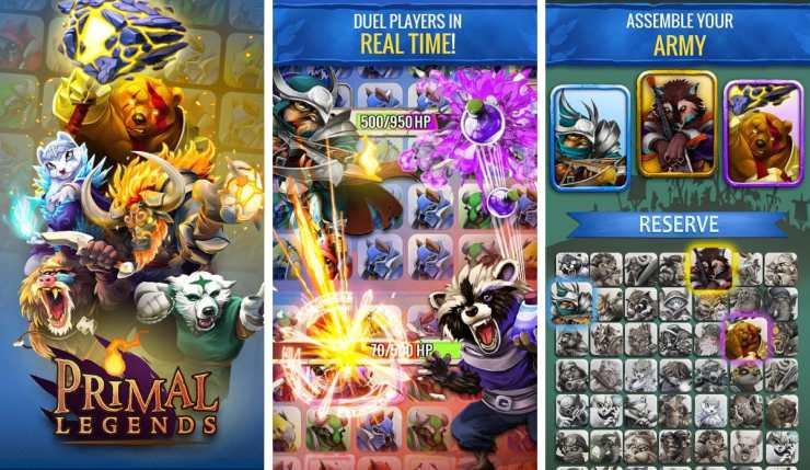 jocuri noi pentru telefon - primal legends
