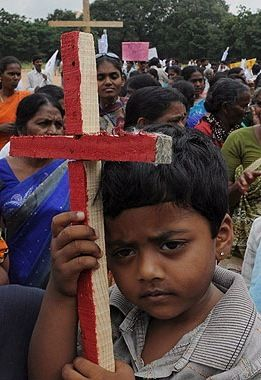 Se incrementa el número de refugiados en la India