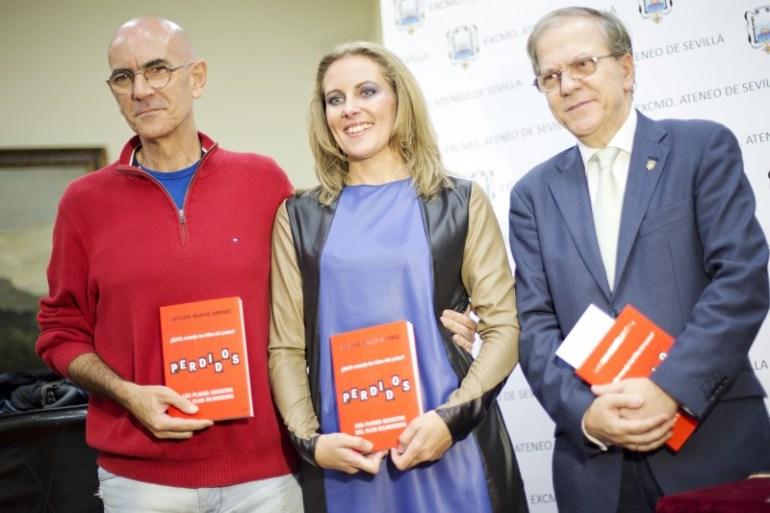 Cristina Martin Jimenez presentación Perdidos Club Bilderberg Ateneo Sevilla