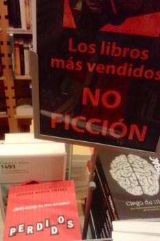 Se agotan los ejemplares de PERDIDOS en las librerías de Madrid