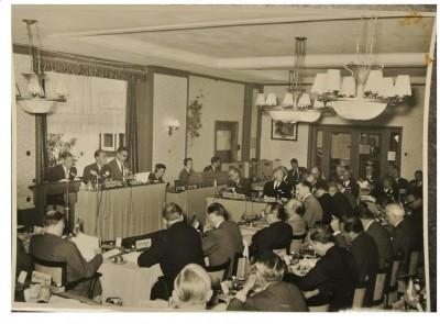Primera reunión oficial del Club Bilderberg
