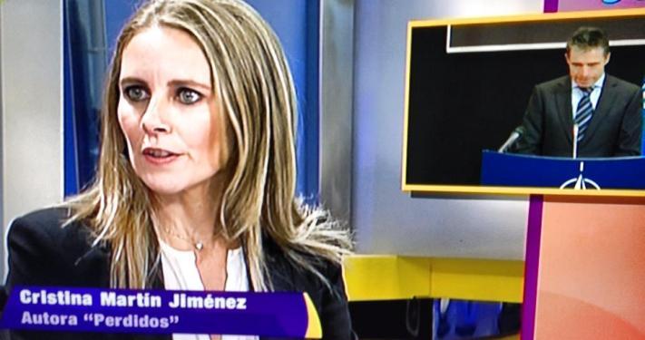 cristina martin jimenez habla del club bilderberg en 13tv