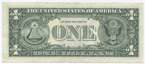 Billete de dolar el ojo que todo lo ve