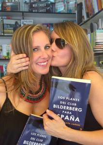 Con Elena Mérida