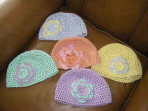 crochet caps with flowers craigs list st louis crochet