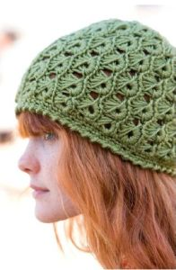 crochet broomstick hat by margaret hubert
