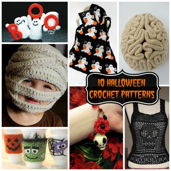 10 Halloween Crochet Patterns - Crochet