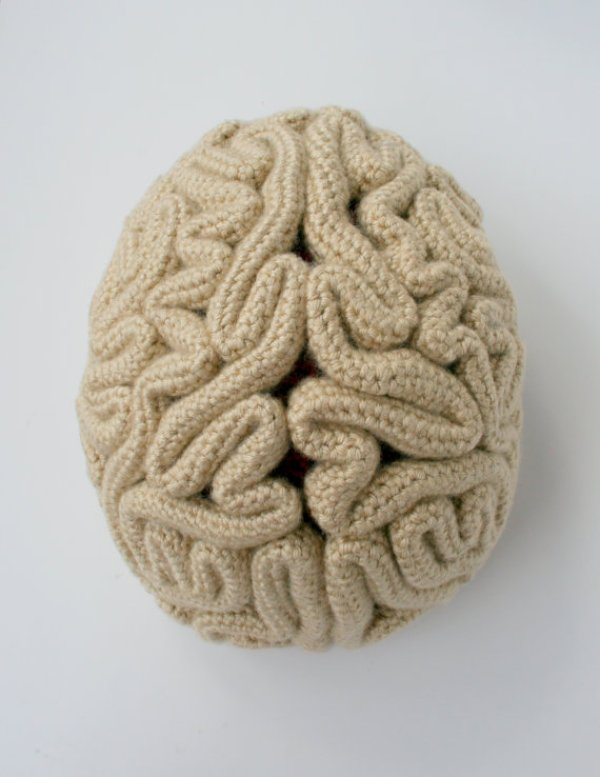 Brain Beanie  - candypopcreations