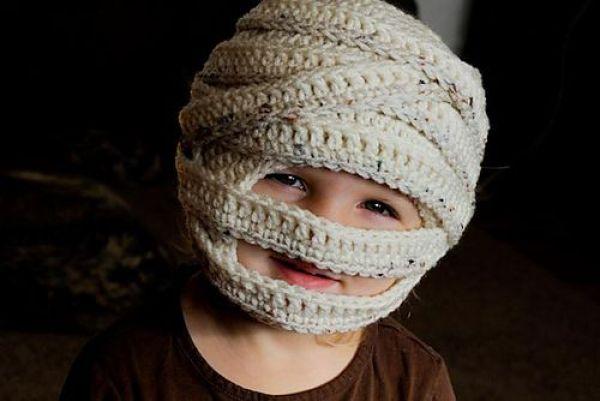 Mummy Halloween Hat - Tara Murray Designs