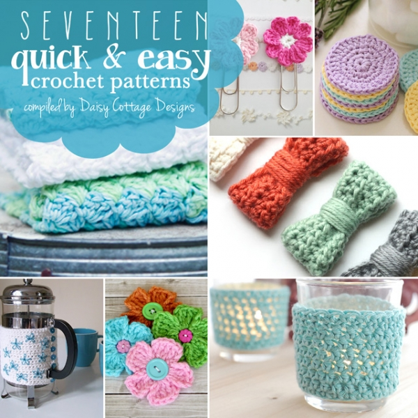Crochet Quick Projects : Free Patterns - Quick Crochet Projects - Crochet