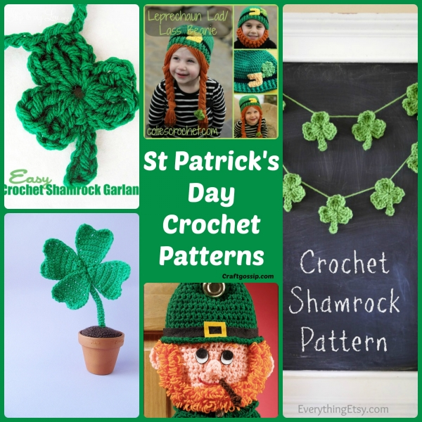 Free Crochet Pattern A Day : st-patricks-day-crochet-patterns-free-irish