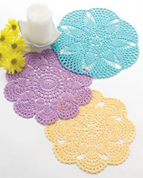 Pretty Crochet Patterns : Beautiful Crochet Doily Patterns - Crochet