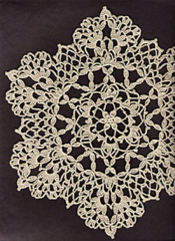 Crocheting Doilies Patterns : Beautiful Crochet Doily Patterns - Crochet