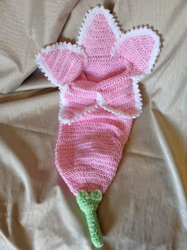 Free Pattern Baby Flower Cocoon Crochet Craftgossip Bloglovin