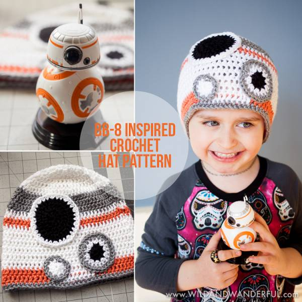 Free Star Wars Bb 8 Crochet Pattern : FREE BB-8 Star Wars The Force Awakens Beanie Pattern ? Crochet