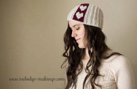It's All About The Hearts – Beanie Pattern