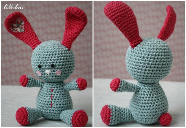 Free Crochet Dutch Rabbit Pattern : Free Pattern ? Amigurumi Easter Bunny ? Crochet