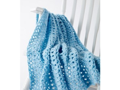 Cluster Waves Blanket Pattern