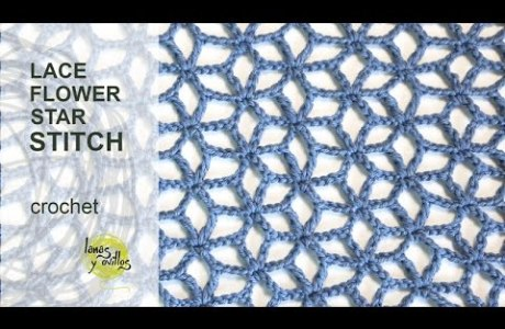 How To Crochet Video – Lace Star Stitch