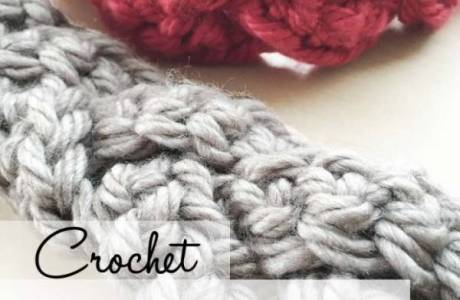 Crochet Braided Headband Pattern