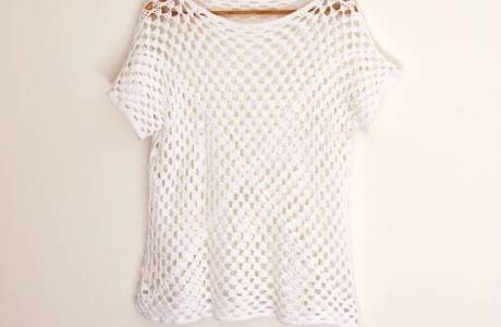If You Can Crochet A Granny Square You Can Make This Top