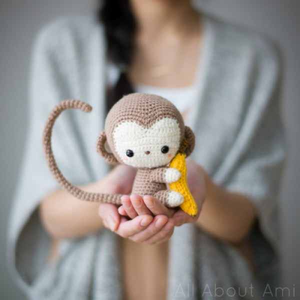 Amigurumi To Go Monkey : 8 Crochet Stuffed Animal Patterns Crochet