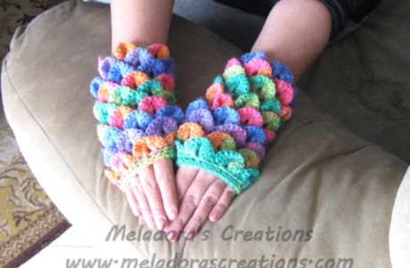 Free Crochet Pattern – Dragon Gloves
