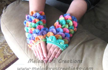 Free Crochet Pattern – Dragon Gloves