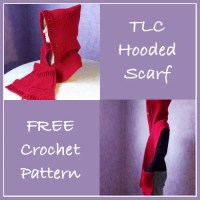TLC Hooded Scarf