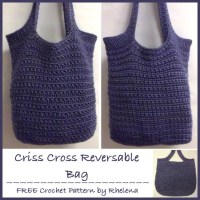 Criss-Cross Reversible Bag