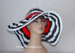 The Kentucky Lady Hat ~ Sara Sach - Posh Pooch Designs
