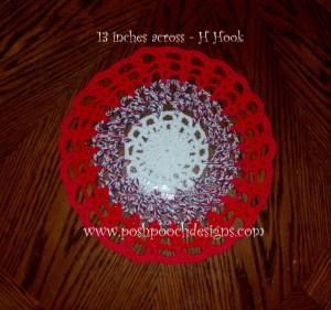 Round Cotton Placemat ~ Sara Sach - Posh Pooch Designs