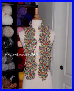 Queen Ann's Lacy Scarf ~ Sara Sach - Posh Pooch Designs