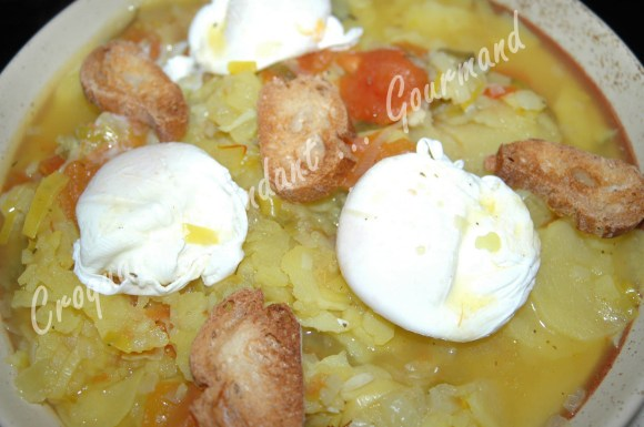 Bouillabaisse d'œufs pochés au safran - DSC_7234_15627