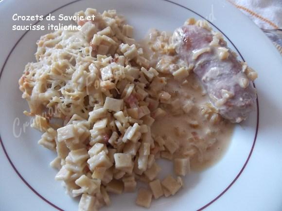 Crozets de Savoie-saucisse italienne DSCN6809_26929