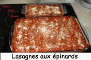 Lasagnes aux épinards Index - septembre 2009 185 copie